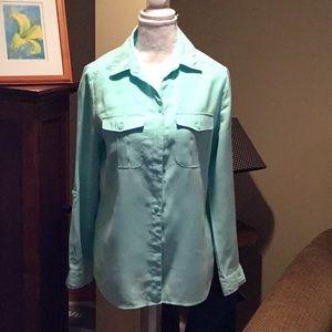 Chico's Aqua blouse